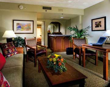 Suite Parlor at the Pointe South Mountain Resort